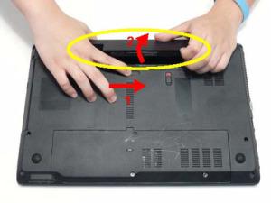 Разбираем и чистим ноутбук Packard Bell EasyNote TM89