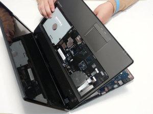 Разбираем ноутбук Acer Aspire