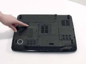 Разбираем и чистим ноутбук Acer Aspire 5530G
