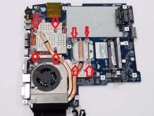 Разбираем ноутбук Acer Aspire 5530G