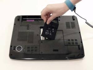 Как разобрать ноутбук Acer Aspire 5530G