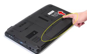 Разбираем и чистим ноутбук Acer Aspire 5738G