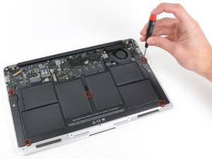 Как разобрать ноутбук Apple MacBook 11″ Air