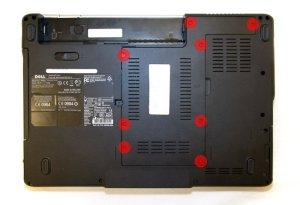 Как разобрать ноут Dell Inspiron 1525