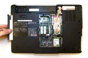 Как правильно разобрать ноутбук Dell Inspiron 1525