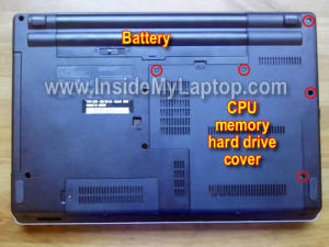 Как разобрать ноутбук Lenovo ThinkPad Edge
