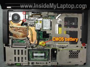 Как разобрать ноутбук Lenovo ThinkPad T61