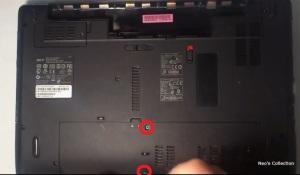 Как разобрать ноутбук Acer Aspire 5552 модель PEW76