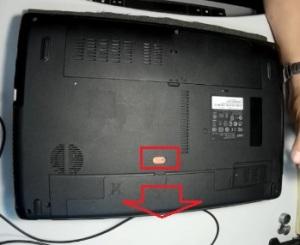 Как разобрать ноутбук Acer Aspire 5750G