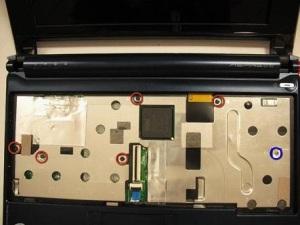 Как правильно разобрать ноутбук Acer Aspire One ZG5