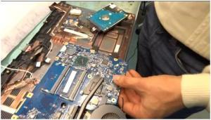 Как разобрать ноутбук Acer Aspire V5-571
