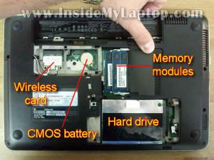 Как разобрать ноутбук HP Pavilion dm4