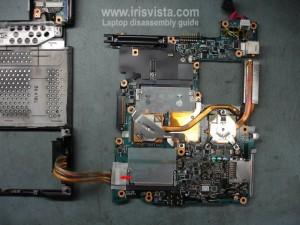 Как разобрать ноутбук Toshiba Portege S100