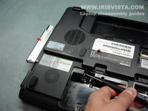 Как разобрать ноутбук Toshiba Satellite X200
