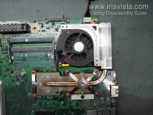 Как разобрать Toshiba Tecra A10