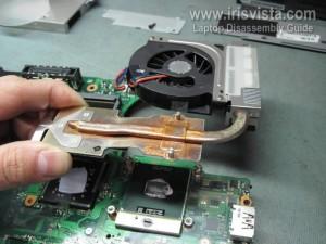 Разборка ноутбука Toshiba Tecra A10