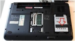 Как разобрать ноутбук Acer Aspire 5734Z для замены термопасты и чистки от пыли