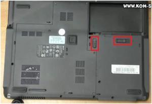 Как разобрать и почистить ноутбук Acer TravelMate 5320