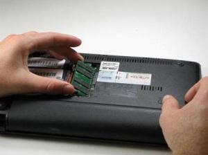 Разбираем ноутбук Asus Eee PC 1005HA
