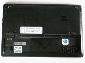 Как разобрать ноутбук Asus Eee PC 1018P