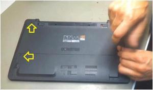 Как разобрать и почистить ноутбук Asus F552C