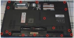 Как разобрать, почистить от пыли и заменить термопасту на ноутбуке Emachines E642G?