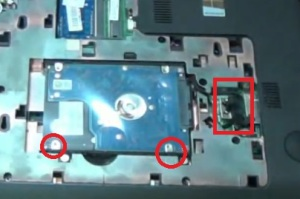 Разбираем ноутбук HP Pavilion 17-e111sr.