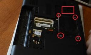 Разбираем и чистим от пыли ноутбук HP 630 модель TNPF102.