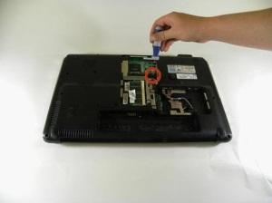 Разборка, чистка от пыли и замена термопасты на ноутбуке HP Pavilion dv6 модели 1245dx.