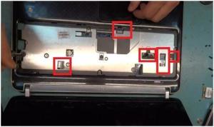 Разбираем ноутбук HP Pavilion DV6 модель 6C00.