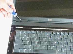 Разборка ноутбука HP Pavilion dv5000.