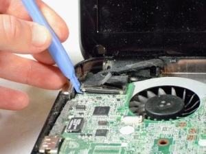 Разбираем ноутбук HP Pavilion g7.