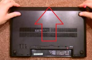 Как разобрать ноутбук Lenovo G500 и G510?