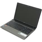 Разбираем ноутбук Acer Aspire 5560G. Чистим систему охлаждения и меняем термопасту.