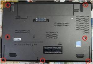 Как разобрать ноутбук Lenovo T440s?