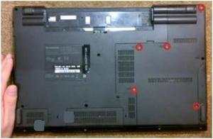 Как разобрать ноутбук Lenovo ThinkPad SL510?