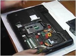 Разборка ноутбука Lenovo Z570.