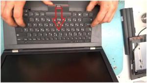 Чистим ноутбук ThinkPad Lenovo L530 и меняем термопасту.