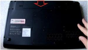 Разборка ноутбука Lenovo IdeaPad Z560.