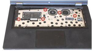 Чистка от пыли ноутбука Lenovo IdeaPad Yoga 13.