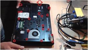 Как почистить ноутбук ASUS K75VJ и заменить термопасту?