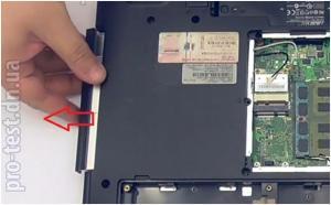 Разбираем и чистим ноутбук Asus N71J.
