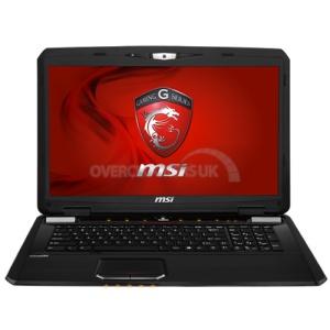 Чистим ноутбук MSI GX70 с заменой термопасты.